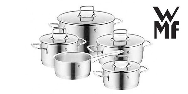 Batería de cocina WMF Merano 5 piezas barata en eBay