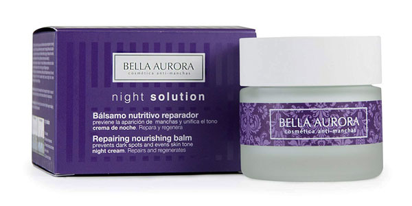 Bella Aurora Night Solution Bálsamo nutritivo reparador noche barata en Amazon