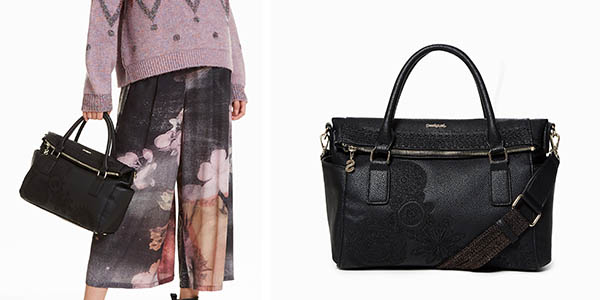 bolso mediano Desigual Dark Amber Lovely chollo
