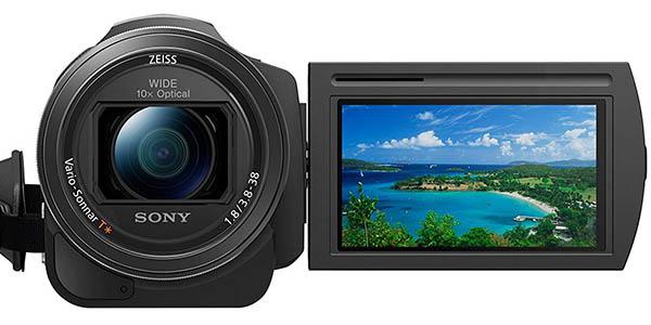 Sony Handycam FDR-AX33 con grabación de vídeo 4K