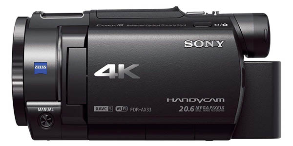 Sony Handycam FDR-AX33 barata