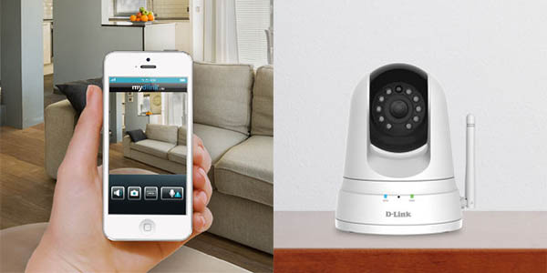Cámara IP de vigilancia D-Link DCS-5000L en Amazon
