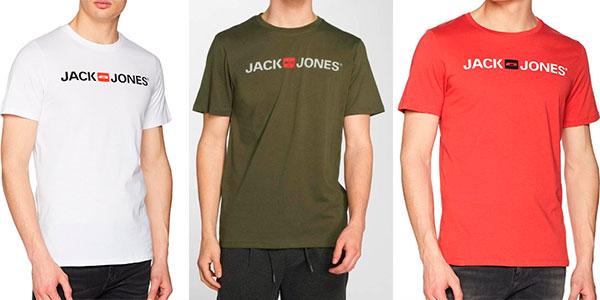Camiseta Jack & Jones Jjecorp Logo de algodón para hombre barata
