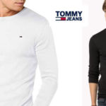 Camiseta TOMMY HILFIGER DENIM manga larga barata en Amazon
