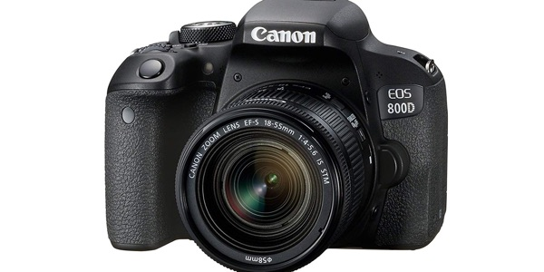 Canon EOS 800D barata con Objetivo EF-S 18-55IS STM