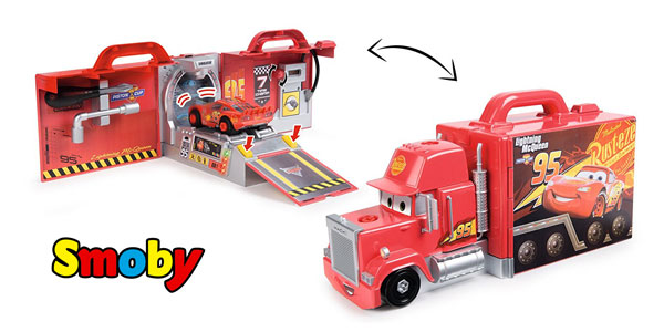 Cars 3 Mack Truck Simulator (Smoby 360146) barato en Amazon