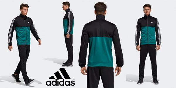 Chándal Adidas Back2Bas 3S TS para hombre barato en Amazon con cupón  DEPORTES20 5c67931bf8b13