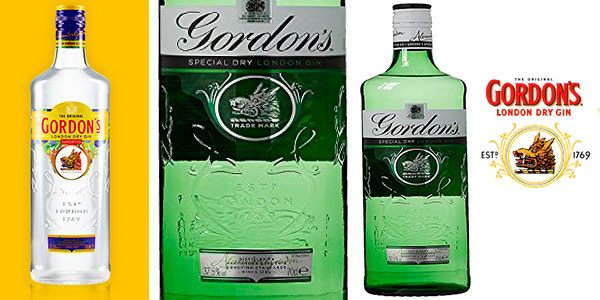 Chollo Botella de ginebra Gordon's de 700 ml barata