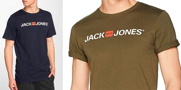 Chollo Camiseta Jack & Jones Jjecorp Logo de manga corta para hombre