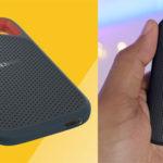 Chollo Disco duro externo SSD SanDisk Extreme Portable de 1 TB con USB-C