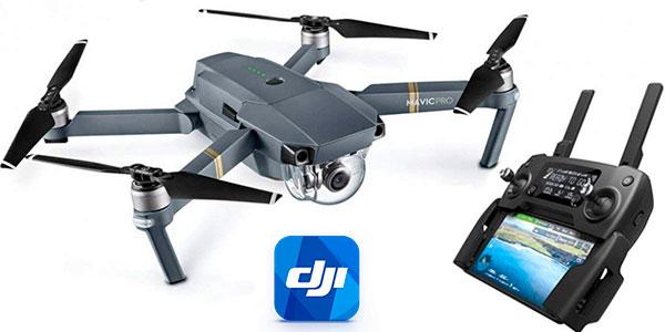 Chollo Dron cuadricóptero DJI Mavic Pro con cámara 4K