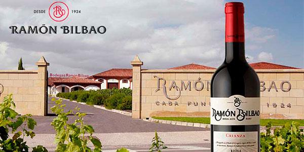 Chollo Pack de 6 botellas de vino tinto Ramón Bilbao Crianza (DO Rioja) de 2015
