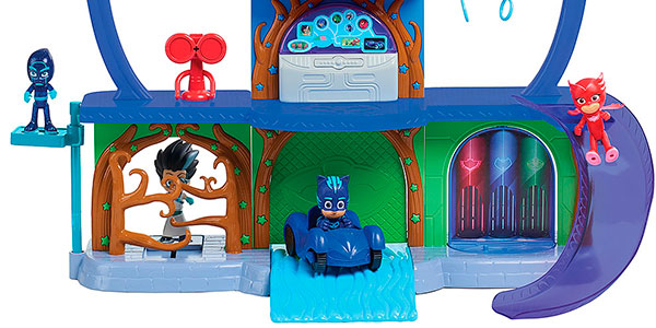 Chollo Playset Base Secreta PJ Masks