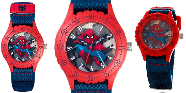Chollo Reloj analógico de Spiderman para niñ@s