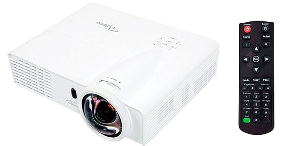 Chollo Videoproyector DLP Optoma GT760 de 3.400 lúmenes con mando a distancia blanco