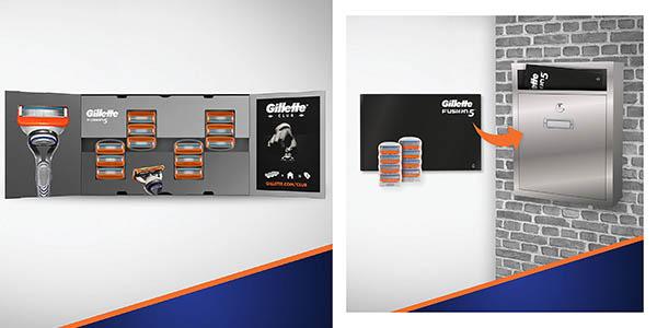 cuchillas recambios Gillette Fusion oferta