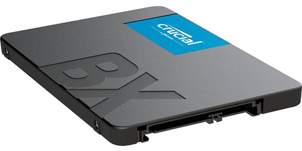 Disco SSD Crucial BX500 de 120 / 240 / 480 GB