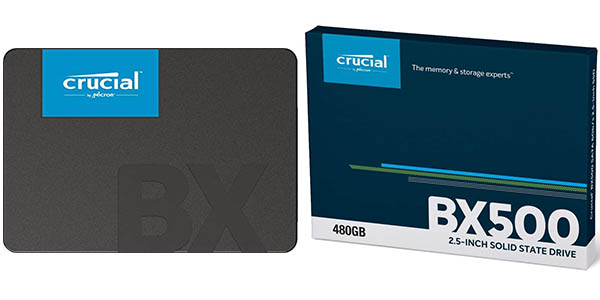 Disco SSD Crucial BX500 barato