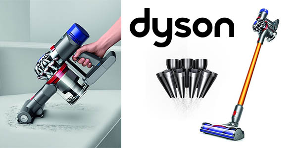 chollo aspirador dyson v8 absolute cord free vacuum. Black Bedroom Furniture Sets. Home Design Ideas
