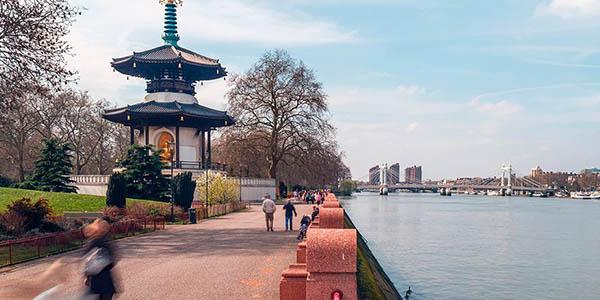 escapada a Londres barata septiembre 2018