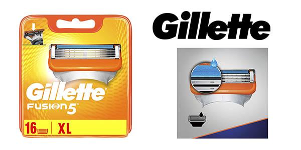Gillette Fusion 5 recambios pack ahorro