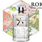 Botella ginebra premium japonesa Suntory Roku Gin de 70cl barata en Amazon