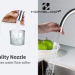 Grifo de cocina Homelody con caño giratorio y 2 tipos de chorro barato en Amazon
