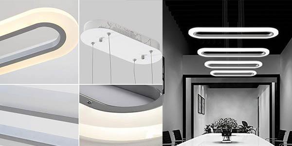 lámpara colgante de diseño ZMH barata