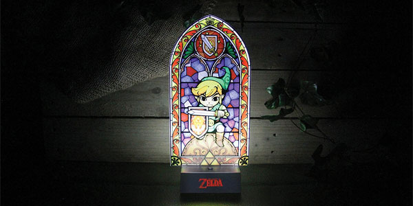 Lámpara de mesilla Link's Light The Legend of Zelda chollo en Amazon