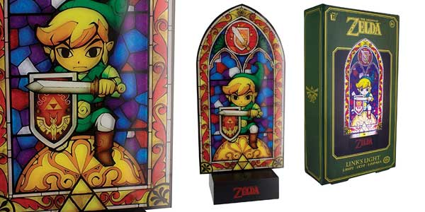 Lámpara de mesilla Link's Light The Legend of Zelda barata en Amazon