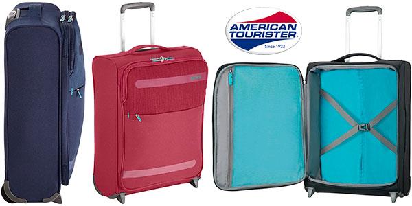 Maleta American Tourister Herolite Upright de 41 litros y 2 ruedas barata