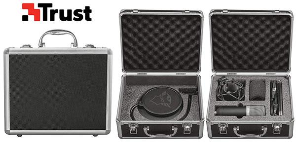 Micrófono de estudio Trust GXT 252 Emita con USB barato