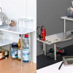 Mini estantería Bremermann doble esquinera para mesa o encimera de cocina barata en Amazon