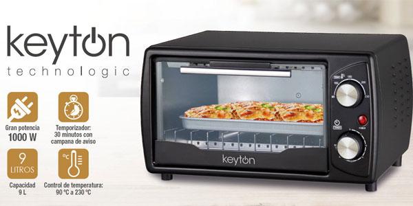 Horno Eléctrico Keyton Technologics de 9L y 1.000W barato en eBay
