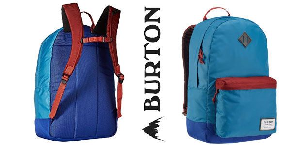 Mochila mediana Burton Kettle azul para mujer barata en Amazon