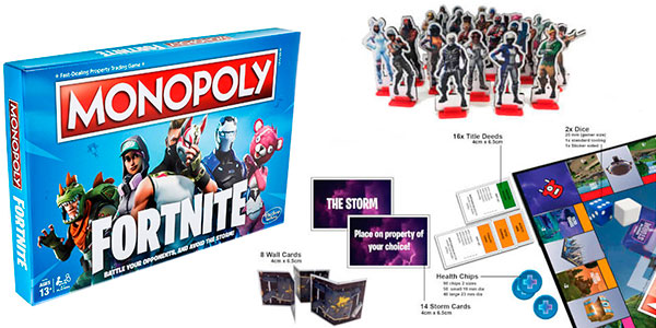 Monopoly Edición Fortnite barato