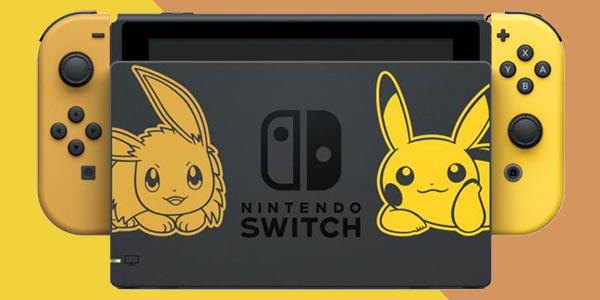 Nintendo Switch Edición especial Pokémon Let's Go