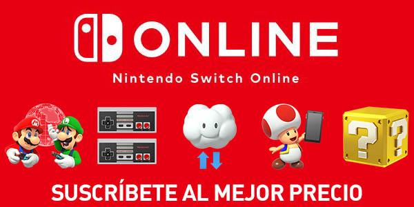 Suscripción Nintendo Switch Online de 365 días