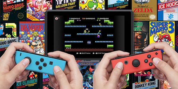 Juegos clásicos NES con Nintendo Switch Online