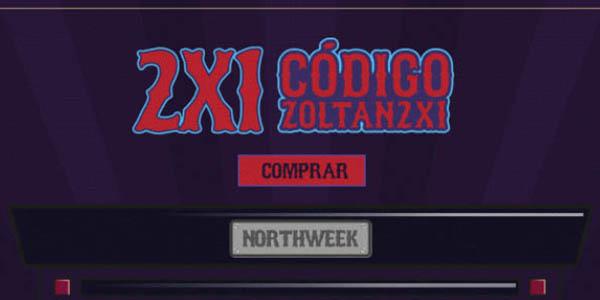 Norhtweek código descuento ZORTAN2X1 en gafas de sol