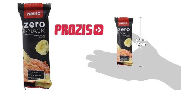Pack x12 Prozis Zero Snack Barritas de proteínas chollazo en Amazon