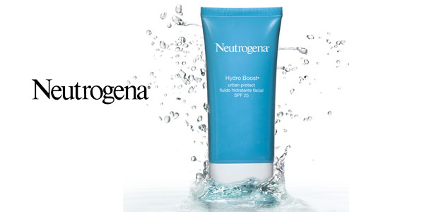 Pack x 2 Crema facial con ácido hialurónico Neutrógena Hydro Boost SPF25 chollo en Amazon