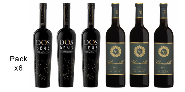 Pack 3 botellas Clarendelle Rouge 2009 (D.O. Bordeaux) + 3 botellas Vermouth Dos Déus Estrellas barato en eBay