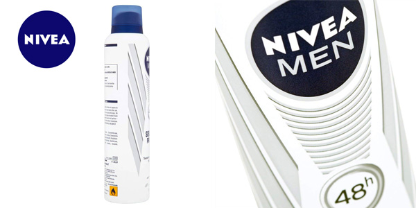 Pack x6 Desodorantes Nivea Men piel sensible chollo en Amazon