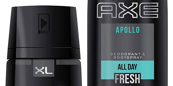 Pack 3 Desodorantes Bodyspray x 200 ml AXE Apollo XL chollo en Amazon
