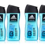 Pack de 6 botes de gel de ducha Adidas Ice Dive barato