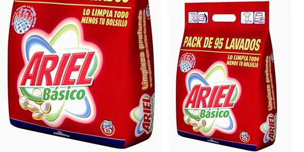 Pack de detergente básico profesional Ariel (95 dosis) barato