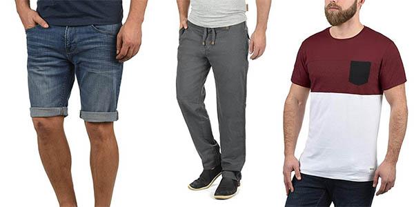 pantalones camisetas y bañadores para hombre Blend !Solid Indicode chollos