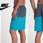 """Pantalones cortos Nike Heather Split Volley Short 5.5"""" para hombre baratos en Amazon"""