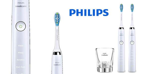Philips Sonicare Diamond Clean HX9327/87 pack 2 cepillos de dientes eléctricos barato